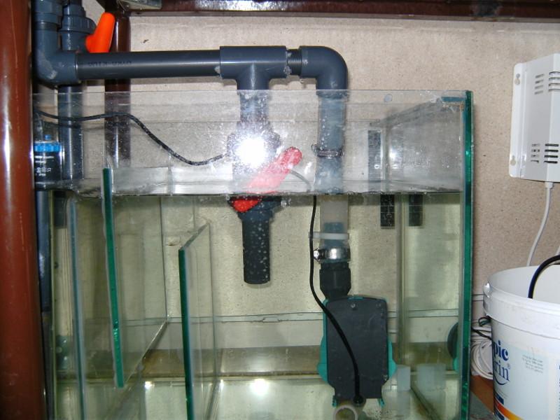 sump til akvarie
